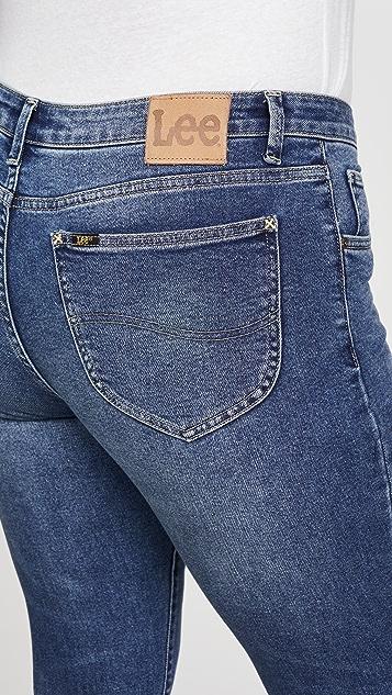 Lee Vintage Modern Mid Rise Skinny Ankle Jeans