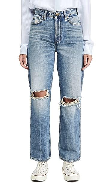 Lee Vintage Modern 高腰休闲烟管牛仔裤