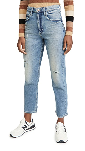 Lee Vintage Modern High Rise Straight Leg Ankle Jeans