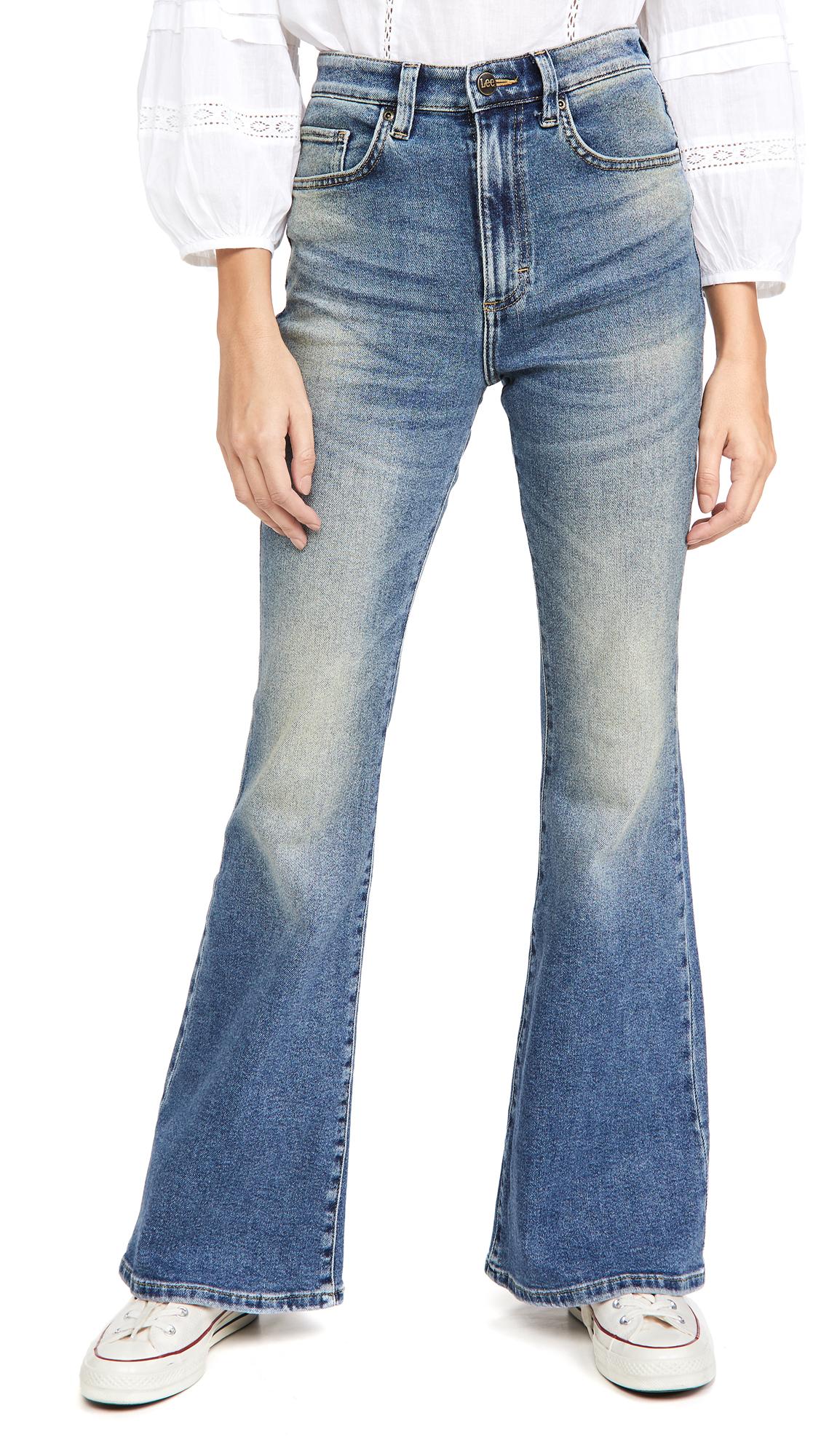 Lee Vintage Modern High Rise Flare Jeans