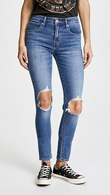 8be56adb Levi's 721 High Rise Distressed Skinny Jeans | SHOPBOP
