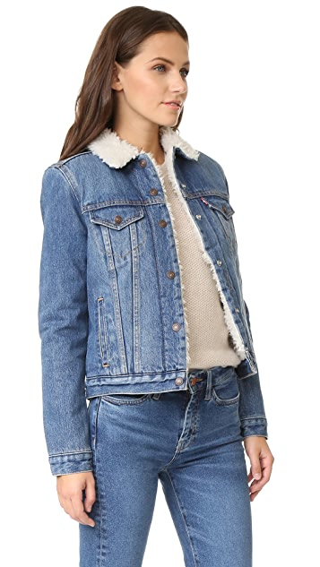 Levi's Authentic Sherpa Trucker Jacket