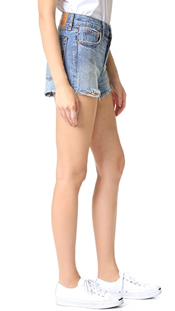 Levi's High Rise Wedgie Shorts