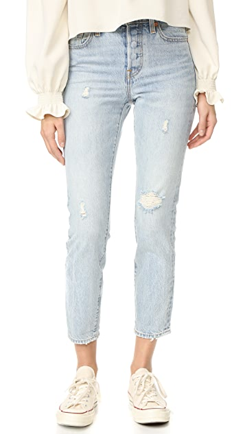 Levi S Wedgie Icon Selvedge Jeans