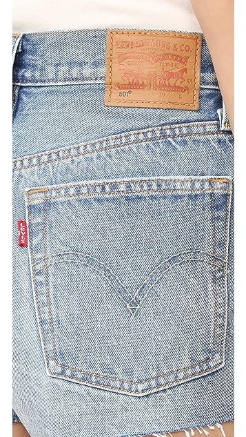 Levi's 501 Selvedge Shorts