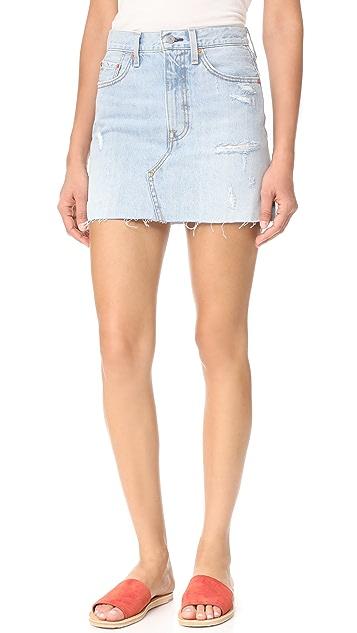53eaab21fa Levi s Deconstructed Skirt ...