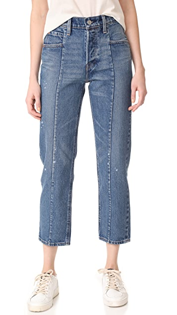 Levi's Altered Straight Jeans