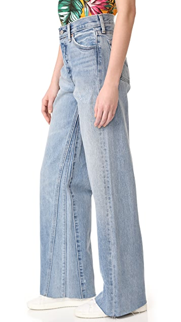Levi's Altered Wide Leg Jeans