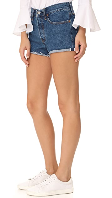 Levi's Wedgie Selvedge Shorts