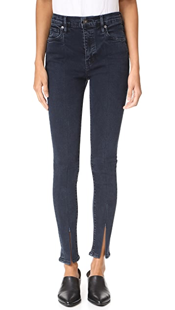 Levi's Made & Crafted Spliced Sliver High Skinny Jeans
