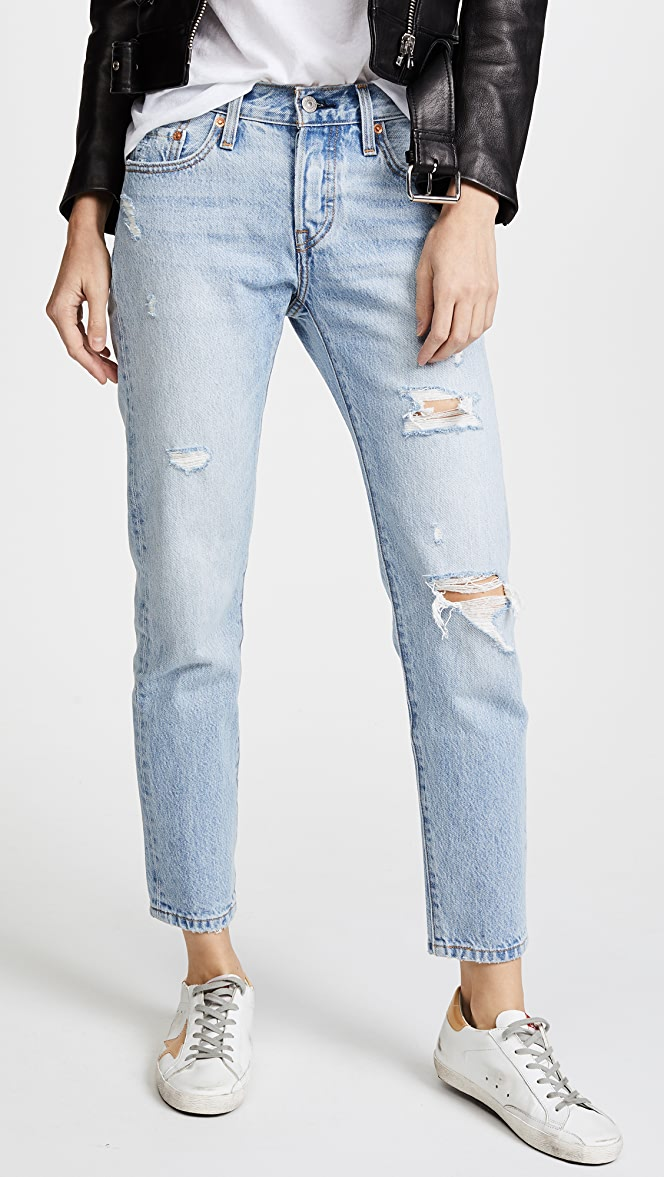Levi's 501 Tapered Jeans | SHOPBOP