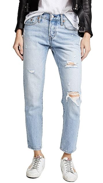 Levi's 501 小脚牛仔裤