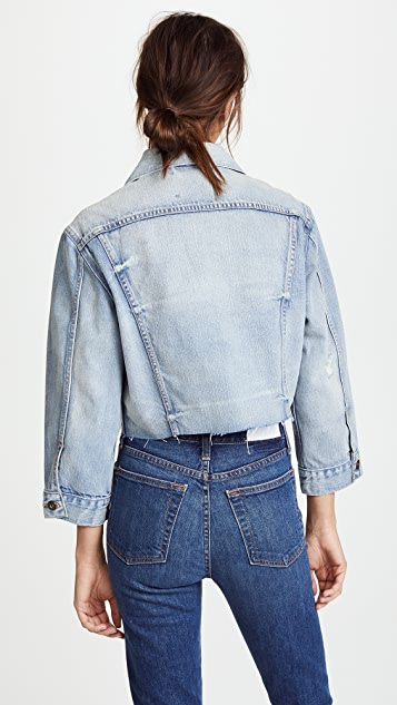 Levi's LMC x SHOPBOP Cropped BF Trucker Jacket