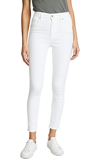 Levi's Mile High Ankle Super Skinny Jeans