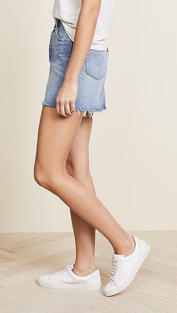 Levi's Deconstructed Skirt