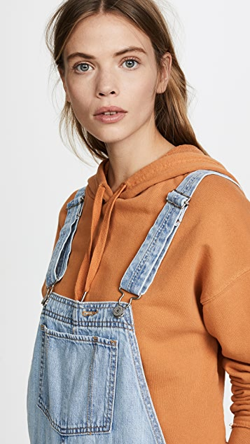 Levi's Baggy Overalls
