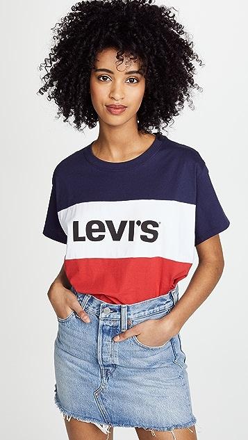 298e055d9 Levi's Colorblock J.V. Tee | SHOPBOP