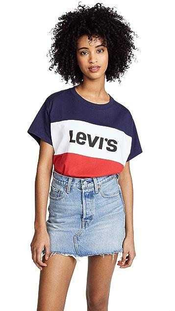 Levi's Colorblock J.V. Tee