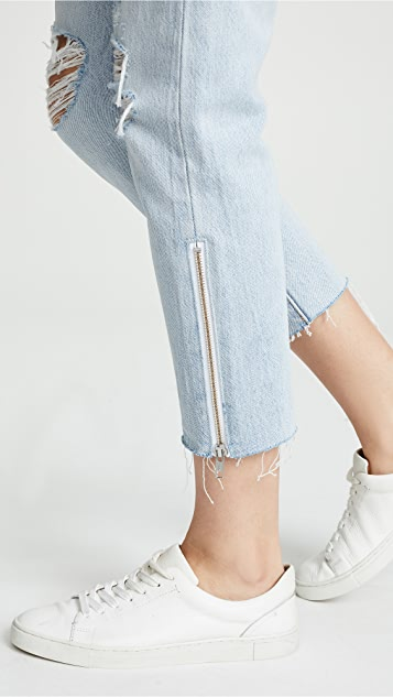 Levi's 501 DIY Cropped Taper Jeans