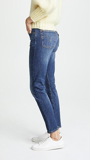 Levi's Эластичные джинсы-скинни 501