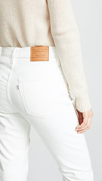 Levi's Wedgie Corduroy Straight Jeans