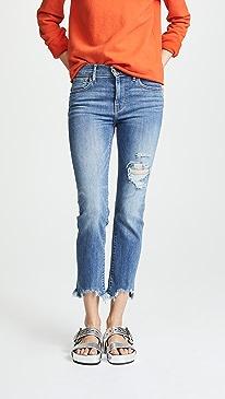 724 Straight Crop Jeans
