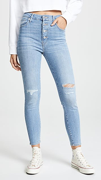 Levi's Mile High Super Skinny Ankle Jeans