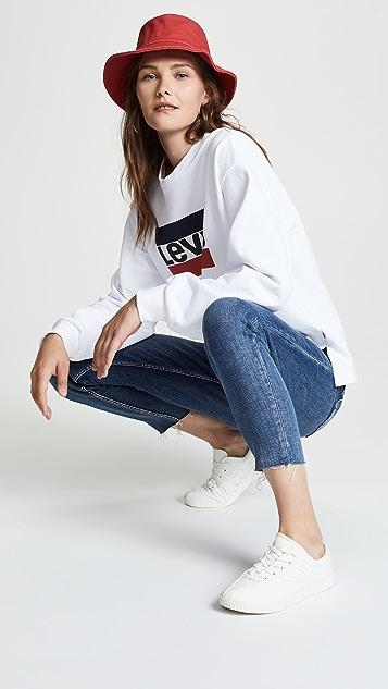 Levi's Graphic Big Sleeve Sweatshirt