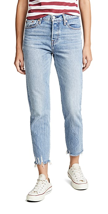 Levis Wedgie Icon Jeans - Shut Up