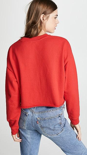 Levi's Graphic Raw Cut Crew Neck Sweatshirt