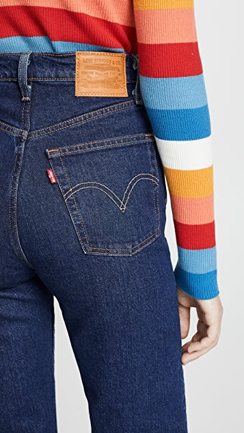 Levi's The Ribcage Straight Jeans