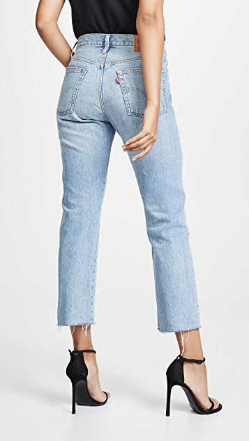 Levi's 501 Crop Jeans