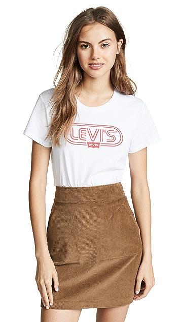 Levi's Футболка Perfect Ski с логотипом