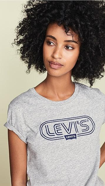 Levi's The Perfect Ski Logo Tee