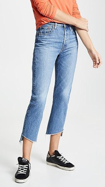 Levi's Укороченные джинсы 501