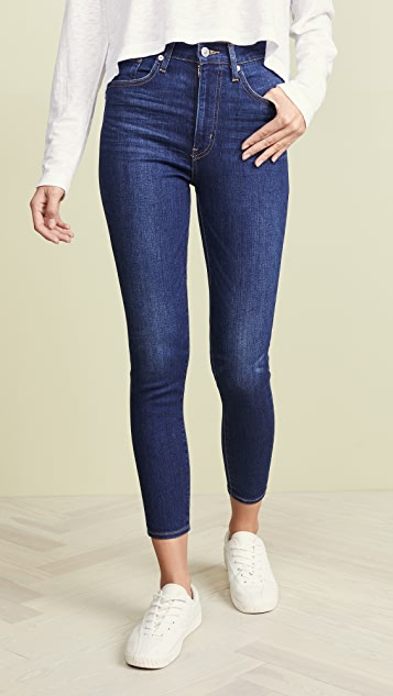 Levi S Mile High Ankle Skinny Jeans