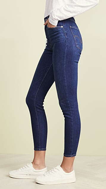 Levi's Mile High Ankle Skinny Jeans