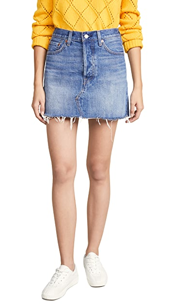 Levi's Deconstructed Skirt