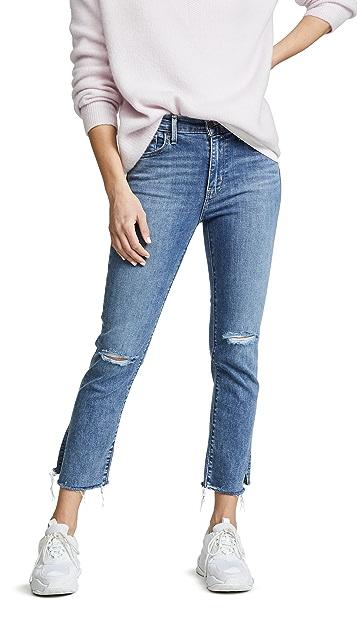 Levi's Прямые укороченные джинсы 724 с высокой посадкой