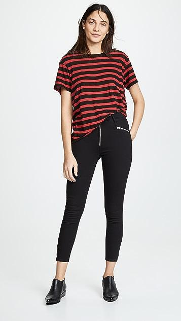 Levi's Байкерские джинсы до щиколотки MH T2
