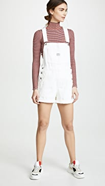 Vintage Look Shortalls