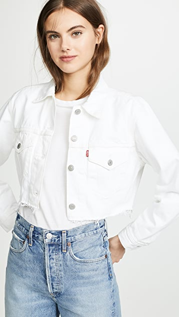 Levi's Cropped Trucker Jacket