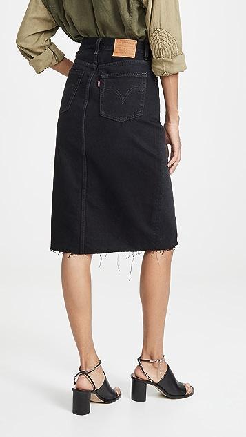 Levi's 解构式半身裙