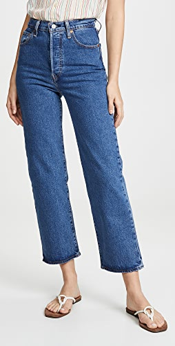 Levi's - 九分直脚牛仔裤