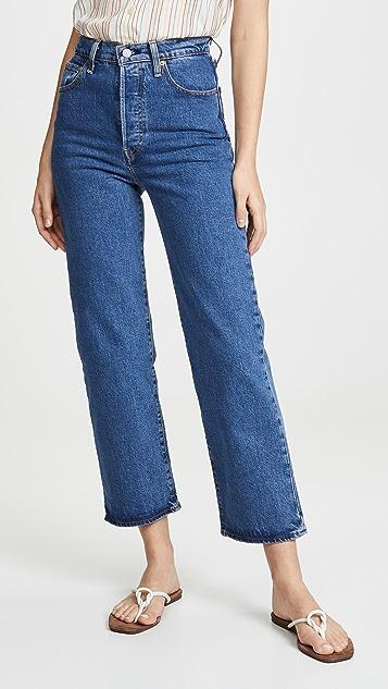 Levi's Прямые джинсы до щиколотки Ribcage