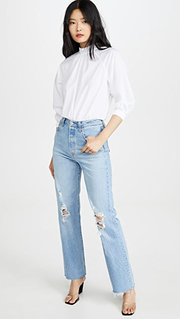 Levi's Ribcage Straight Full Length Jeans
