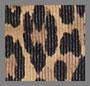 豹纹灯芯绒