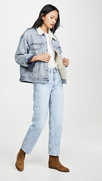 Levi's Dad Sherpa Trucker Jacket