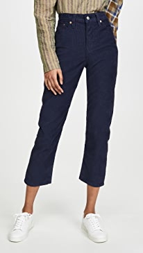 Wedgie Straight Corduroy Pants