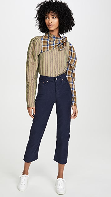 Levi's Wedgie Straight Corduroy Pants